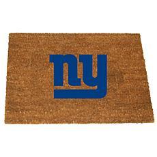 Officially Licensed NFL Colored Logo Door Mat - Giants