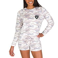 Officially Licensed NFL Concepts Sport Encounter Short Set - Raiders