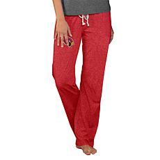 Officially Licensed NFL Concepts Sport Quest Ladies Knit Pant-Arizona