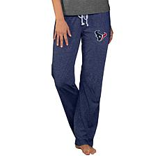 Officially Licensed NFL Concepts Sport Quest Ladies Knit Pant- Texans