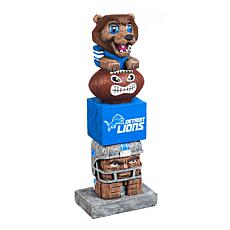 Officially Licensed NFL Decorative Tiki Totem - Lions