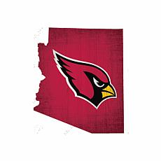 Officially Licensed NFL Distressed State Wall Art