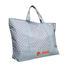 Officially Licensed NFL Dot Tote - Cleveland Browns