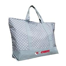 Officially Licensed NFL Dot Tote - Kansas City Chiefs