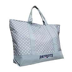 Officially Licensed NFL Dot Tote - New England Patriots
