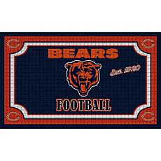 Officially Licensed NFL Embossed Door Mat - Bears