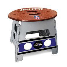 Officially Licensed NFL Folding Step Stool - Baltimore Ravens