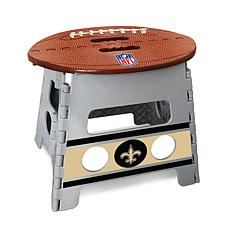 Exceptionnel Officially Licensed NFL Folding Step Stool   New Orleans Saints