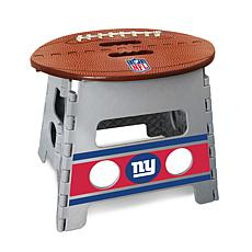 Officially Licensed NFL Folding Step Stool - New York Giants