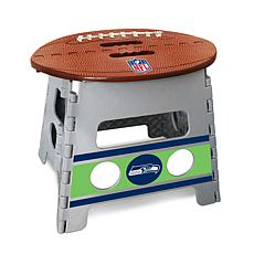 Officially Licensed NFL Folding Step Stool - Seattle Seahawks