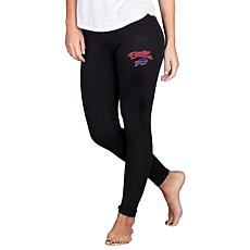 Officially Licensed NFL Fraction Legging by Concept Sports - Bills