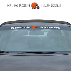 Officially Licensed NFL Front Windshield Decal