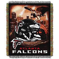 Officially Licensed NFL Home Field Advantage Throw Blanket - Falcons