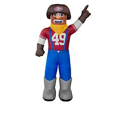 Officially Licensed NFL Inflatable Mascot - 49ers