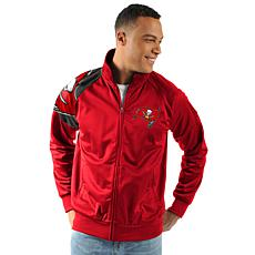Officially Licensed NFL Interception Full Zip Track Jacket by Glll