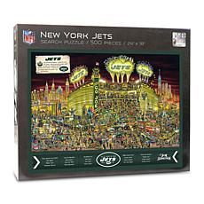 Officially-Licensed NFL Joe Journeyman Puzzle - New York Jets