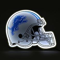 Officially Licensed NFL LED Helmet Lamp - Lions