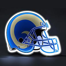 Officially Licensed NFL LED Helmet Lamp - Rams