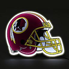 Officially Licensed NFL LED Helmet Lamp - Redskins
