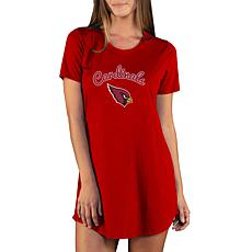 Officially Licensed NFL Marathon Nightshirt by Concept Sports-AZ Cards
