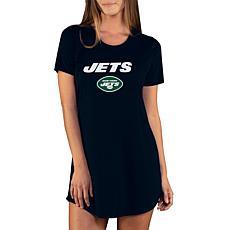 Officially Licensed NFL Marathon Nightshirt, Concept Sports - Jets
