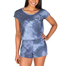 Officially Licensed NFL Marina Ladies Knit SS Romper - Seahawks