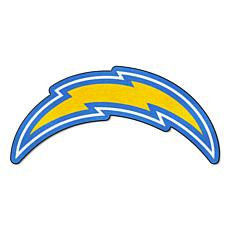 Officially Licensed NFL Mascot Rug - Los Angeles Chargers