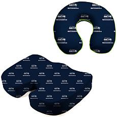 Officially Licensed NFL Memory Foam Cushion Set