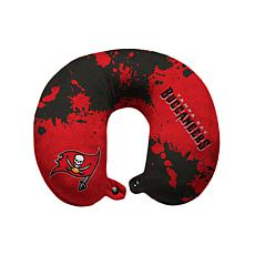 Officially Licensed NFL Memory Foam Travel Pillow - Buccaneers