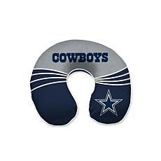 Officially Licensed NFL Memory Foam Travel Pillow - Dallas Cowboys