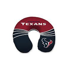 Officially Licensed NFL Memory Foam Travel Pillow - Houston Texans