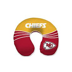 Officially Licensed NFL Memory Foam Travel Pillow - Kansas City Chiefs
