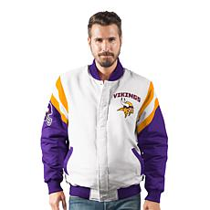 Officially Licensed NFL Men's Commander Varsity Jacket  by Glll