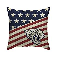 Officially Licensed NFL Pegasus Sports Americana Pillow - Jaguars