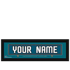 Officially Licensed NFL Personalized Name Plate