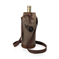 Officially Licensed NFL Picnic Time Waxed Canvas Wine Tote - Tennes...