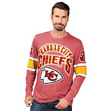 Officially Licensed NFL Power Move Long-Sleeve Graphic Tee by Glll