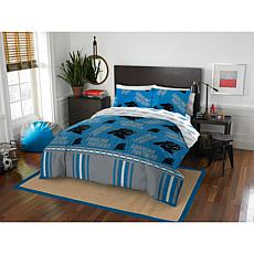 Officially Licensed NFL Queen Bed in a Bag Set - Carolina Panthers