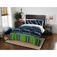 Officially Licensed NFL Queen Bed in a Bag Set - Seattle Seahawks