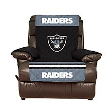 Officially Licensed NFL Recliner Cover - Las Vegas Raiders