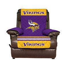 Officially Licensed NFL Recliner Cover - Minnesota Vikings
