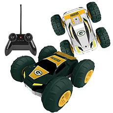 Officially Licensed NFL Remote Control Flip Car - Green Bay Packers
