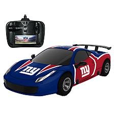 Officially Licensed NFL Remote Control Racer - New York Giants