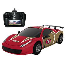 Officially Licensed NFL Remote Control Racer - San Francisco 49ers