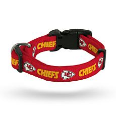 Officially Licensed NFL Small Pet Collar - Chiefs