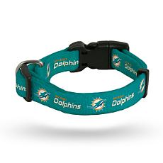 Officially Licensed NFL Small Pet Collar - Dolphins