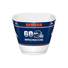 Officially Licensed NFL Snack/Popcorn Bowl - Broncos