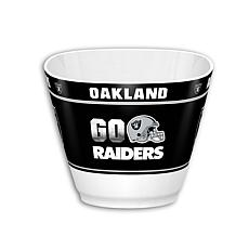 Officially Licensed NFL Snack/Popcorn Bowl - Raiders