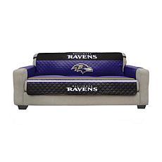 Officially Licensed NFL Sofa Cover - Baltimore Ravens