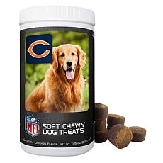 Officially Licensed NFL Soft Chewy Dog Treats - Bears